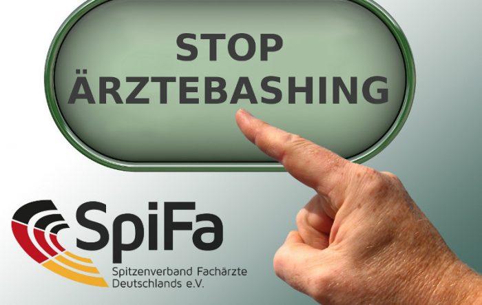 "SpiFa: ""Stop Ärztebashing"""