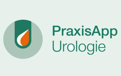 """Logo und Schriftzug """"PraxisApp Urologie"""""""