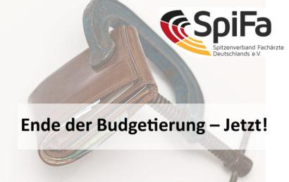 Titel als Schriftzug. Im Hintergrund ein Portemonnaie, das mit einer Schraubzwinge zugehalten wird. SpiFa-Logo in der rechten oberen Ecke