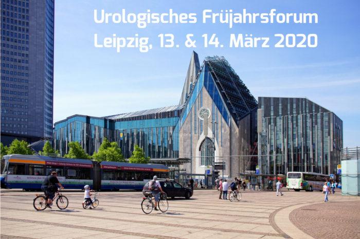 Blick auf Leipziger Uni und Kirche